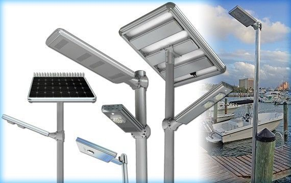 Solar Marina & Street Lighting